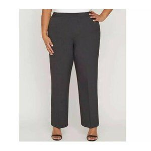 Catherines Refined Pant Straight Leg Gray 5XWP
